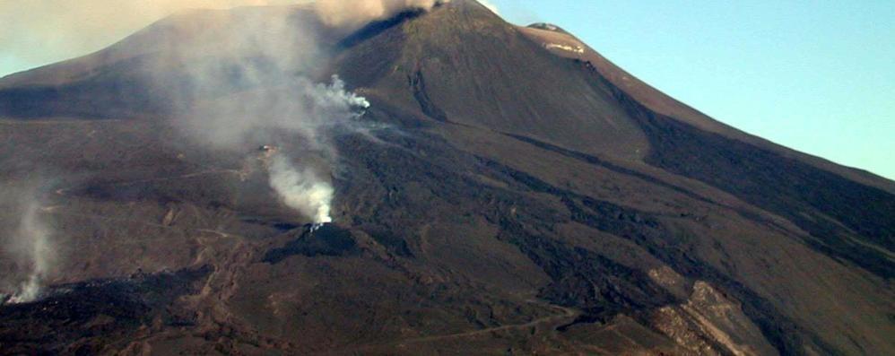 Turista di Lecco  disperso e ritrovato sull'Etna