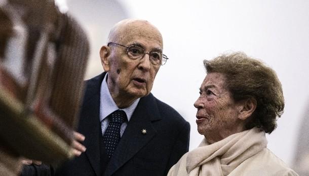 Expo: presente presidente Napolitano