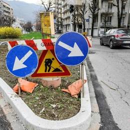 Viale Giulio Cesare  Finalmente si asfalta