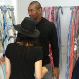 Metta World Peace da Pessina e Taborelli  L'asso Nba va pazzo per il fashion lariano