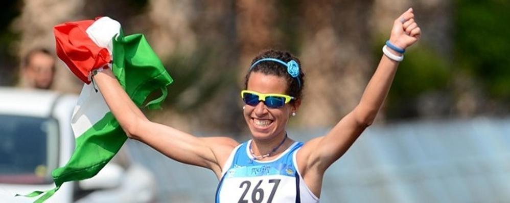 Giorgi, nuovo record italiano