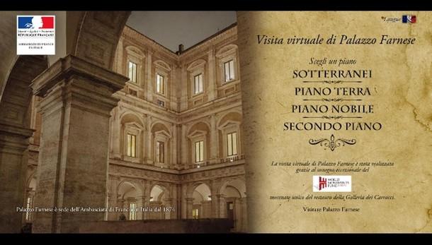 I segreti di Palazzo Farnese in un clic