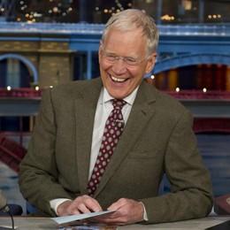 Letterman se ne va,   tace il talk show
