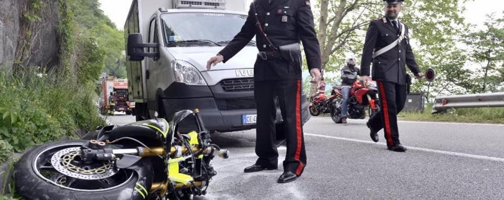 Brienno, incidente sulla Regina Motociclista in gravi condizioni