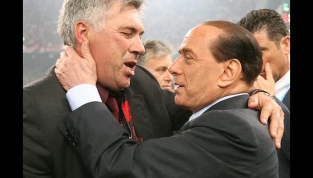 Berlusconi,Ancelotti può tornare a Milan