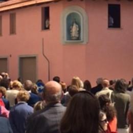 Torna a posto l'effigie della Madonna   Restaurata e sistemata a Casnate