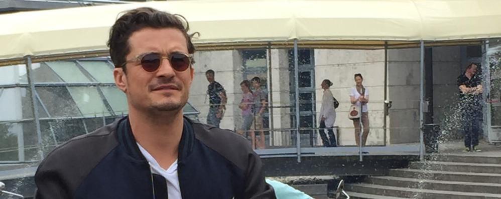 Villa Erba, Orlando Bloom e Lapo Elkann al concorso di eleganza