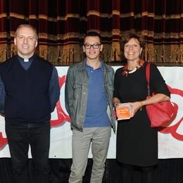 Como teatro Sociale premiazione Cartolandia 2015, scuola Caldera Cabiate