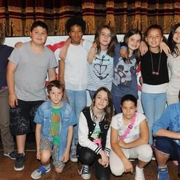 Como teatro Sociale premiazione Cartolandia 2015, scuola secondaria U.Marmori di Cernobbio