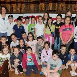Como teatro Sociale premiazione Cartolandia 2015, scuola primaria di Pianello del Lario secondo gruppo