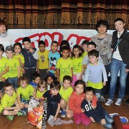 Como teatro Sociale premiazione Cartolandia 2015, scuola d'infanzia Luigi Carluccio Como