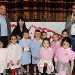 Como teatro Sociale premiazione Cartolandia 2015, asilo infantile Rosetta Tremolada di Caslino d'Erba
