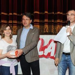 Como teatro Sociale premiazione Cartolandia 2015, scuola Opizzi di Castelmarte