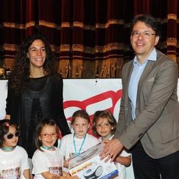 Como teatro Sociale premiazione Cartolandia 2015, scuola Marchesa Lina Carcano di Anzano del Parco