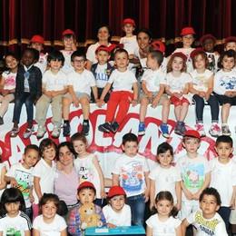 Como teatro Sociale premiazione Cartolandia 2015, scuola d'infanzia di Lezza Ponte Lambro
