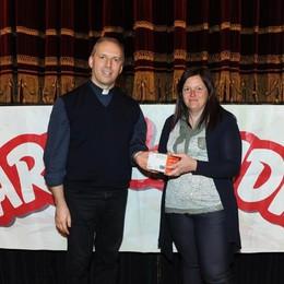 Como teatro Sociale premiazione Cartolandia 2015, scuola d'infanzia Luigi Vigoni di Menaggio
