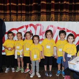 Como teatro Sociale premiazione Cartolandia 2015, scuola d'infanzia di Gera Lario