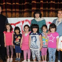Como teatro Sociale premiazione Cartolandia 2015, scuola d'infanzia Arcobaleno di Fino Mornasco