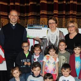 Como teatro Sociale premiazione Cartolandia 2015, scuola d'infanzia C.Collodi di Fino Mornasco