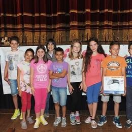 Como teatro Sociale premiazione Cartolandia 2015, scuola primaria Caslino d'Erba