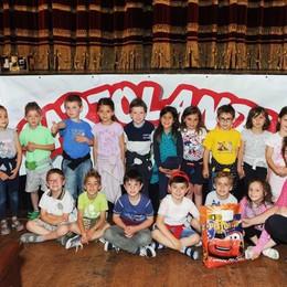 Como teatro Sociale premiazione Cartolandia 2015, scuola d'infanzia Elisa & Mario Lezzeni di Torno