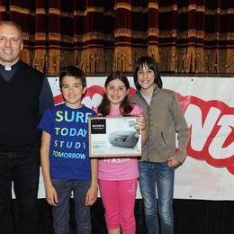 Como teatro Sociale premiazione Cartolandia 2015