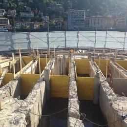 Libeskind, la diga prende forma  Minghetti: «Viva il monumento»
