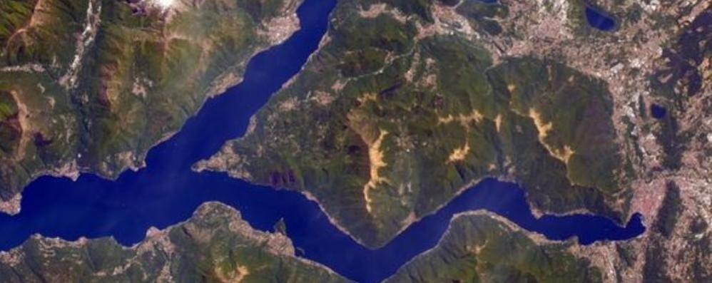 Astrosamantha passa sul Lario Dallo spazio il fascino del lago