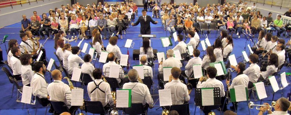 Cantù, Brianzola, Cattolica e Verdi  Tre bande per la prima volta insieme