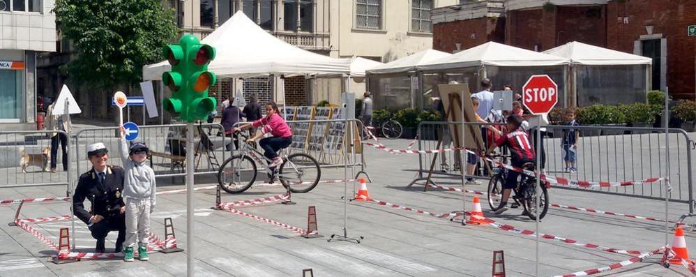 """Cantù, """"Sport in città""""  Festa senza le auto"""