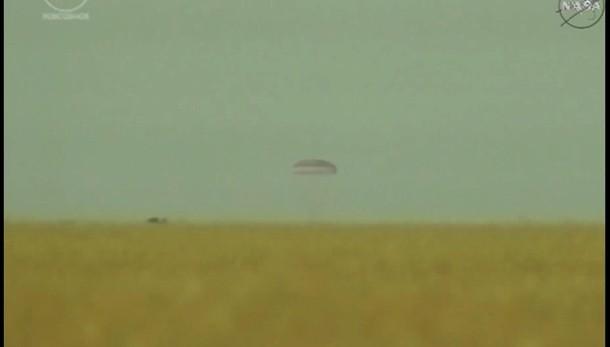 Soyuz è atterrata, Sam è tornata a casa
