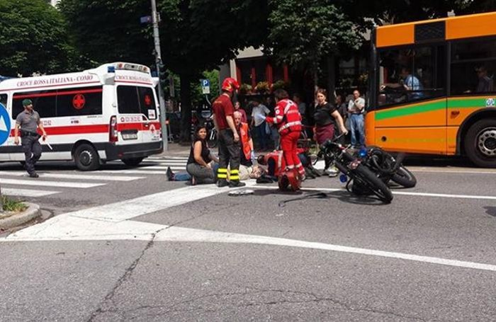 Incidente viale Rosselli