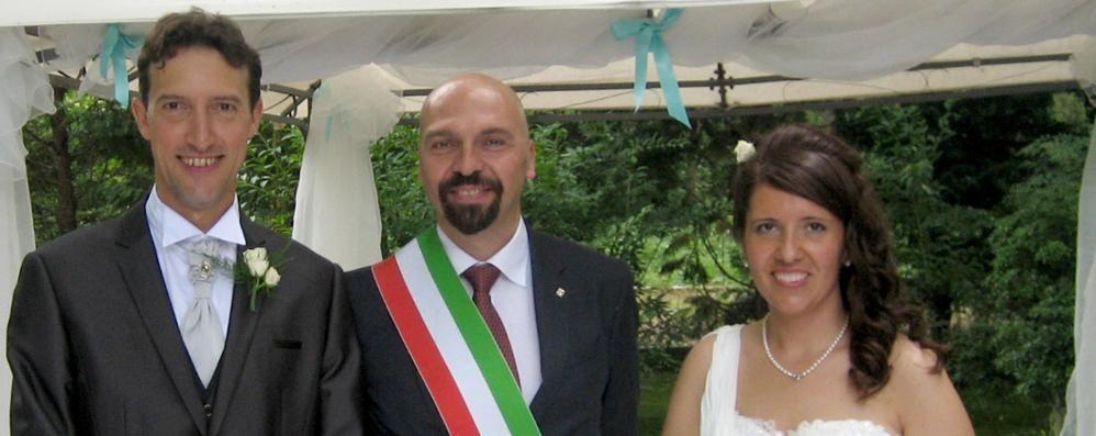 A Cantù ci si sposa anche al ristorante   Ieri il primo sì. È di Stefania e Alberto