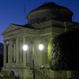 Il Tempio simbolo  della Como che non va