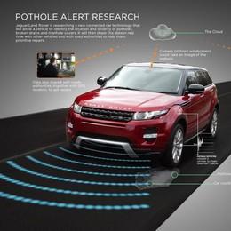 Jaguar Land Rover lancia l'allarme buche