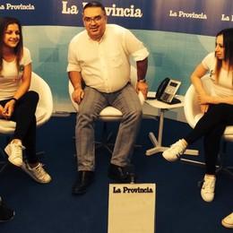 Ginnastica, l'ItalComo in studio  Riguarda l'intervista