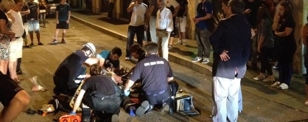 Agente svizzero in coma dopo la lite Il giudice: nessun colpevole