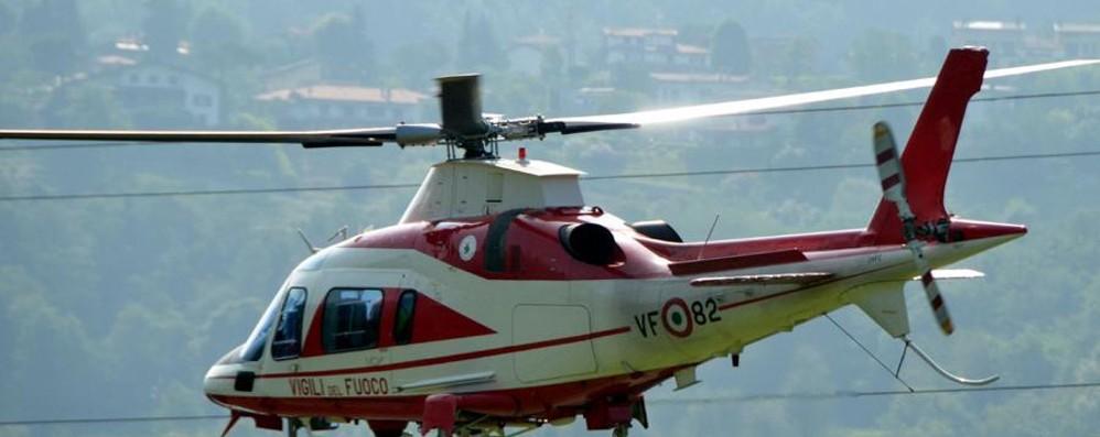 Si perde sul monte Crocetta Salvato con l'elicottero