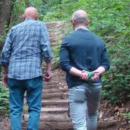 Colverde passeggia nei boschi  Un sentiero che collega tre paesi