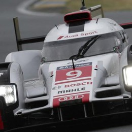 Bonanomi, scheggia a Le Mans  Il miglior tempo Audi in prova