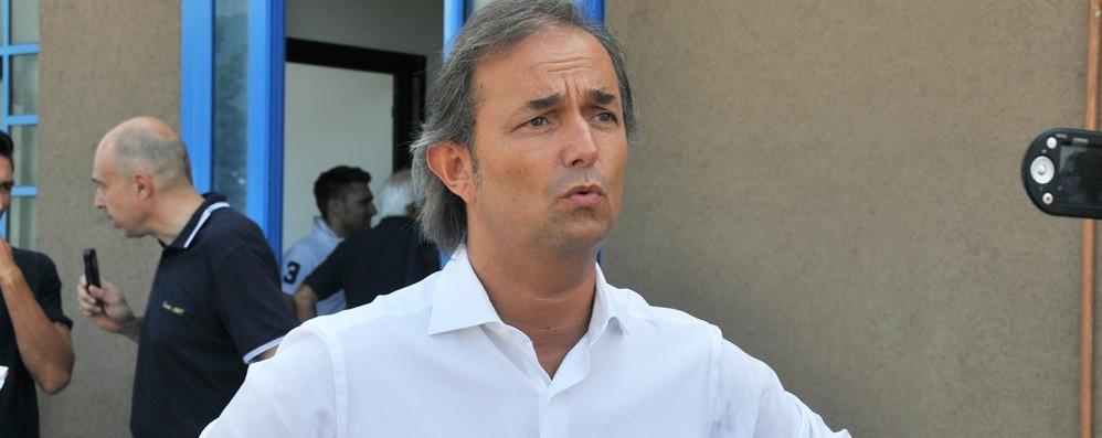 Il presidente del Como  In diretta sul nostro sito