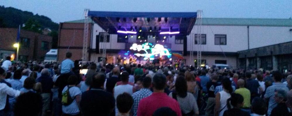 Uggiate, 2.500 per i Nomadi  Il concerto apre la rassegna