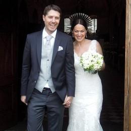 Anche Bossi alle nozze di Nicola Molteni