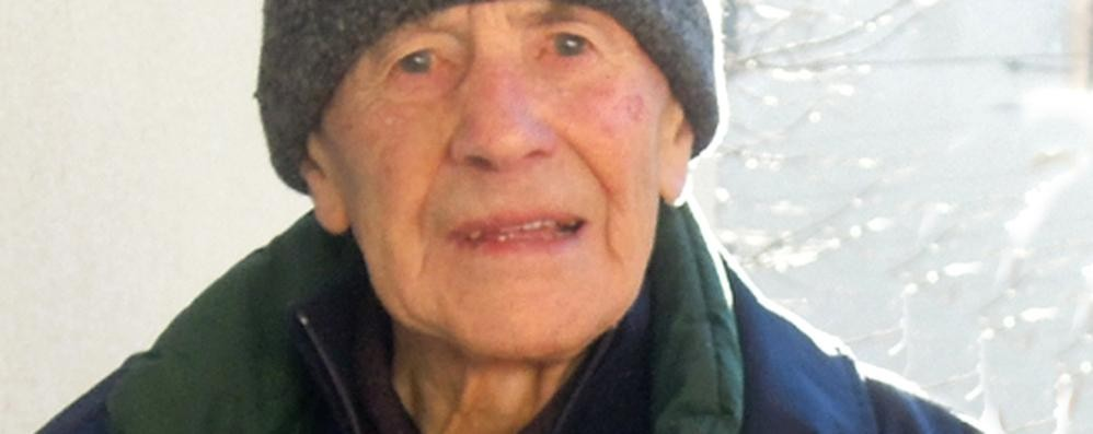 Caglio, morto don Piero a 100 anni  Il prete che salvò i partigiani