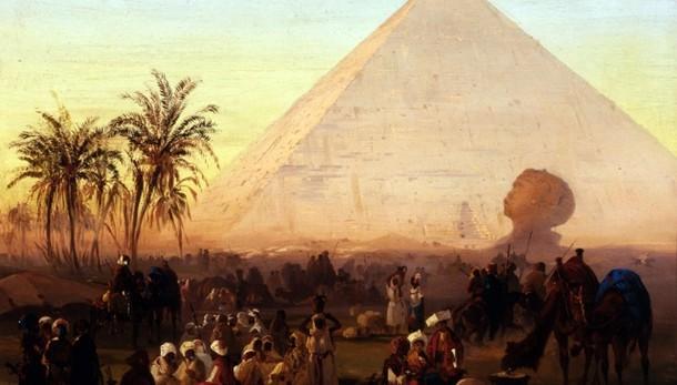 Caffi, il Grand Tour e l'Oriente