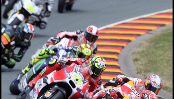 Germania: vince Marquez, Rossi è terzo