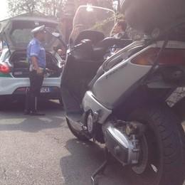 Cantù: auto contro moto, un ferito