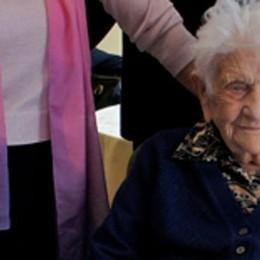 Addio nonna Giovannina  Morta a Menaggio a 108 anni