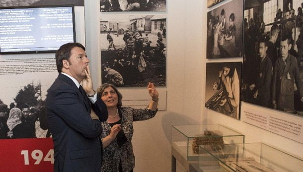 Renzi, Israele Paese nostre radici