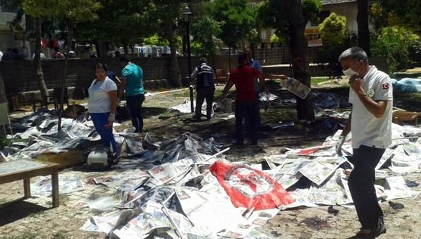 Turchia: 32 le vittime attacco Suruc